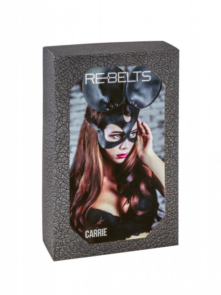 Маска черная Carrie Black 7726rebelts